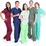 Falis Uniforme médico quirúrgico Scrub para dama y caballero