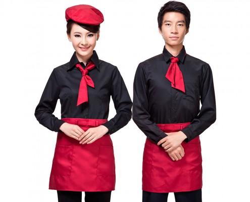 Falis Uniforme para mesero de restaurant Hotel dama y caballero