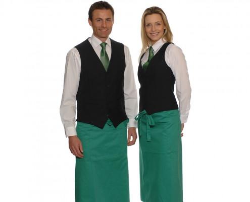 Falis uniforme meseros dama y caballero