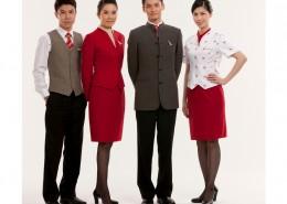 Falis Uniformes para crew de aerolínea Damas y Caballeros
