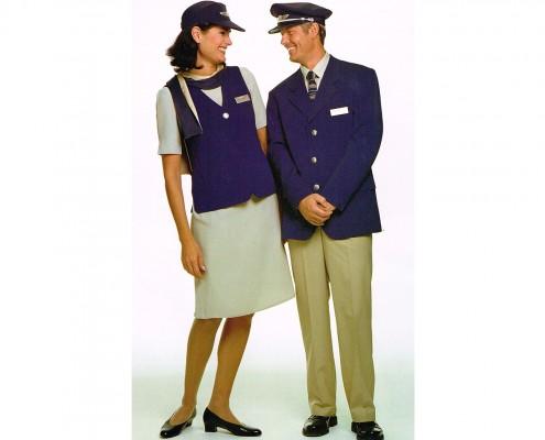 Falis Conjunto de uniformes para sobre cargo dama y caballero