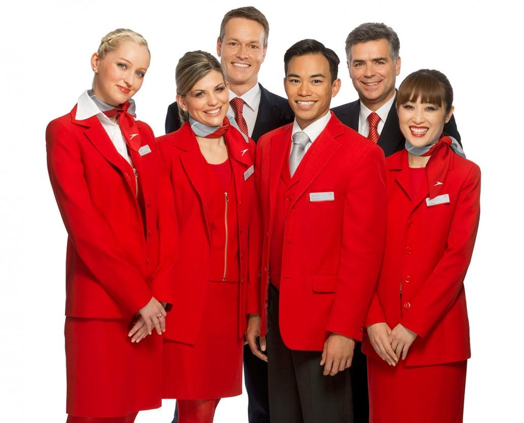 Falis Uniformes grupo de aerolínea Dama y caballero