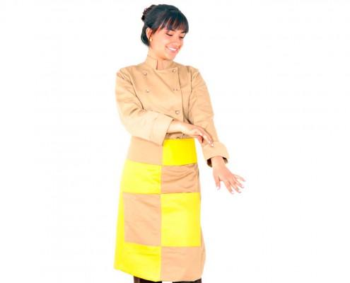 Falis Uniforme filipina para chef dama