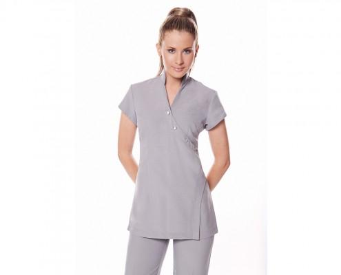 Falis Uniforme para recepcionista de hospital con diseño