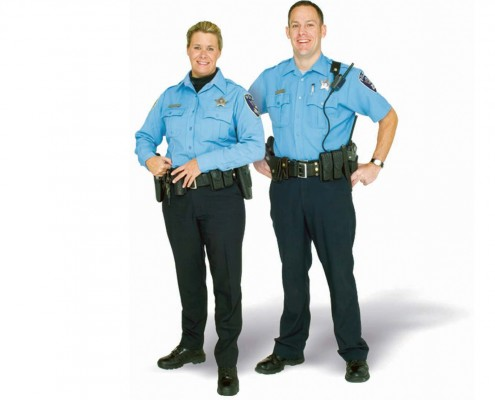 Falis Uniforme para sheriff o alguacil de policía dama y caballero
