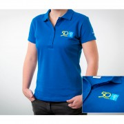 Falis Uniforme playera polo para dama con bordado