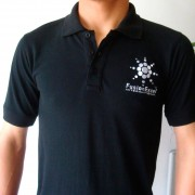 Falis Uniforme playera polo con bordado